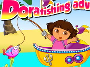 Play Dora Fishing Adventure Games