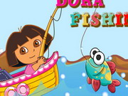 Play Dora Fishing
