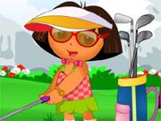 Play Dora Golf Dress Up
