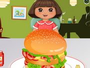 Play Dora Mcdonalds Hamburger