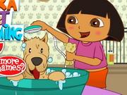 Play Dora Pet Grooming