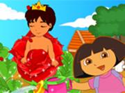 ドラは王子を植えます