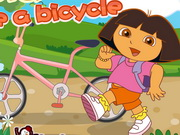 Play Dora Ride A Bicycle