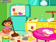 Play Dora Room Clean