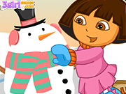 Play Dora Snow Challenges