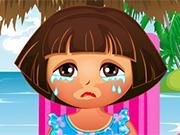 Play Dora Sun Burn