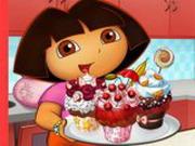 Play Dora Tasty Cupcakes