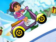 Play Dora Winter Ride