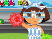 Play Dora World Cup Dressup Games