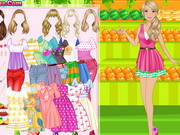 Play Dress Up Barbie Fruiterer