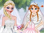 Play Elsa And Anna Brides