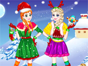 Play Elsa and Anna Christmas Day