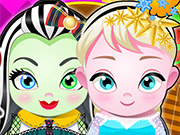 Play Elsa And Frankie Babies