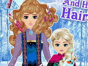 Play Elsa And Her Mom Hairstyle