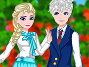 Play Elsa And Jack College Date