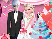 Play Elsa and Jack Wedding Prep