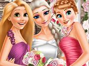 Play Elsa And Princesses Wedding