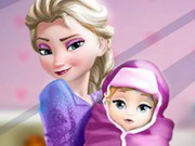 Play Elsa And The New Born Baby