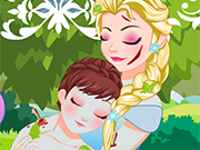 Play Elsa Anna Frostbite Doctor