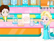 Play Elsa Baby Lovers Make cookies