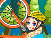 Play Elsa Bicycle Accident Doctor