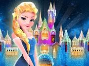 エルザは、冷凍城を構築します