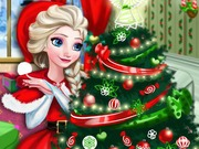 Play Elsa Christmas Home