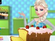 Play Elsa Cooking Pound Cake