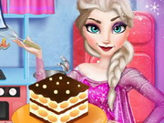Play Elsa Cooking Tiramisu