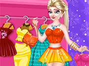Play Elsa Dress Designer