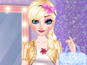 Play Elsa Dress Style Attempt