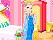 Play Elsa Easter dressup