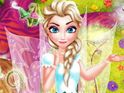 Play Elsa Fairy Room Decoration