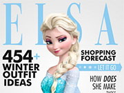 Play Elsa Famous Magazine Interview