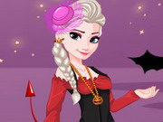 Play Elsa Halloween Dress