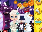 Play Elsa Halloween Slacking