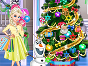 Play Elsa Holidays Shopping