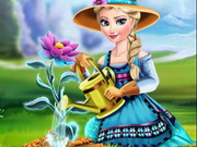 Play Elsa Ice Flower