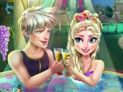 Play Elsa Jacuzzi Celebration