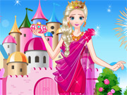 Play Elsa New Year Party