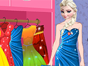 Play Elsa Party Dress Up
