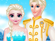 Play Elsa Queen Wedding
