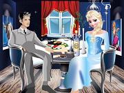 エルザロマンチックなディナー