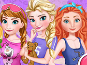 Play Elsa Royal PJ Party