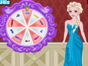 Play Elsa's Lucky Wheel Shopping