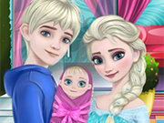 Play Elsa's New Family