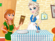 Play Elsa's Restaurant: Penne Pasta With Beans