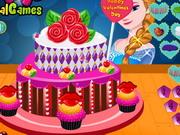 エルザのバレンタインデーケーキ