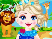 Play Elsa Safari Slacking
