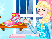 Play Elsa Shoes Design 1